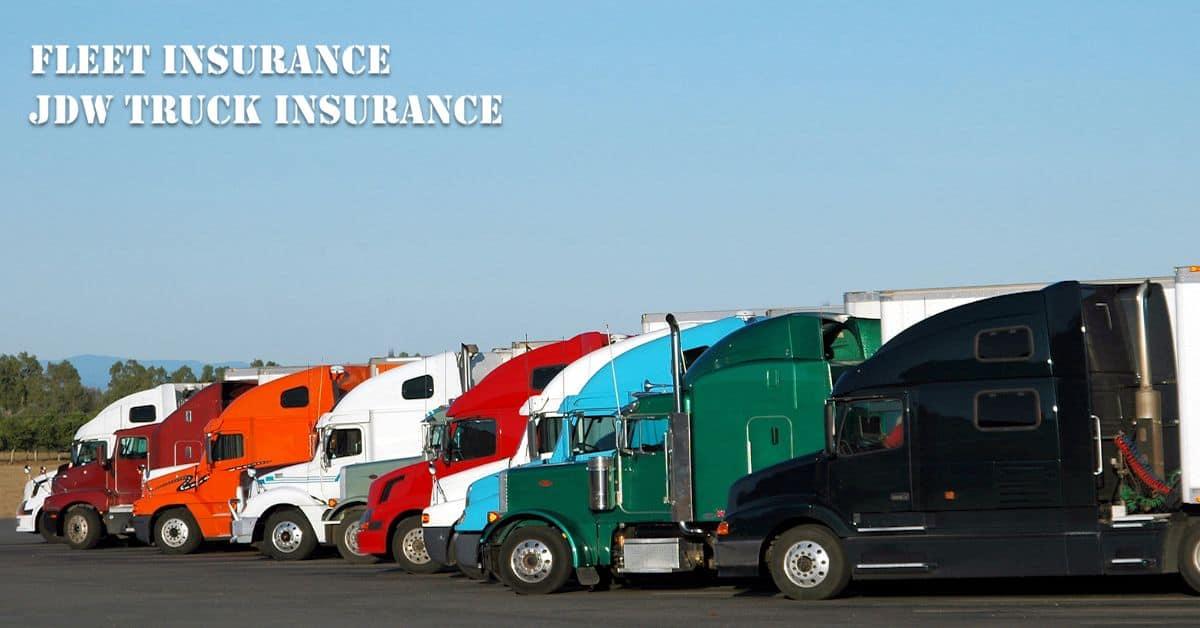 fleet insurance commercial truck insurance