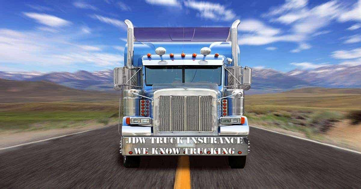 Small Fleet Truck Insurance - Owner Operator Truck Insurance
