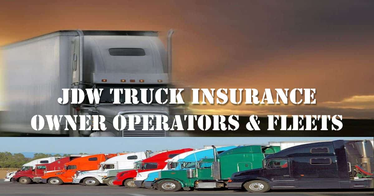 JDW Truck Insurance Quotes
